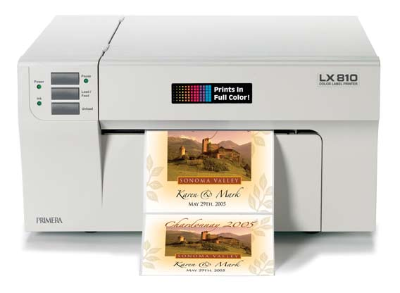 The LX810 Color Label Printer Utilizes Latest In High Resolution Inkjet Technology To Print Brilliant Full Product And Barcode Labels Right
